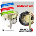 "Brake Booster VH44 260550 Gold VACUUM BOOSTER Hot Rods BD-061 7""WITH FITTING KIT freeshipping"