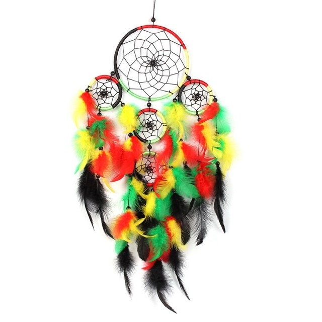 Dream Catcher Black Feathers Home Car Office Wall Hanging Decoration Gifts
