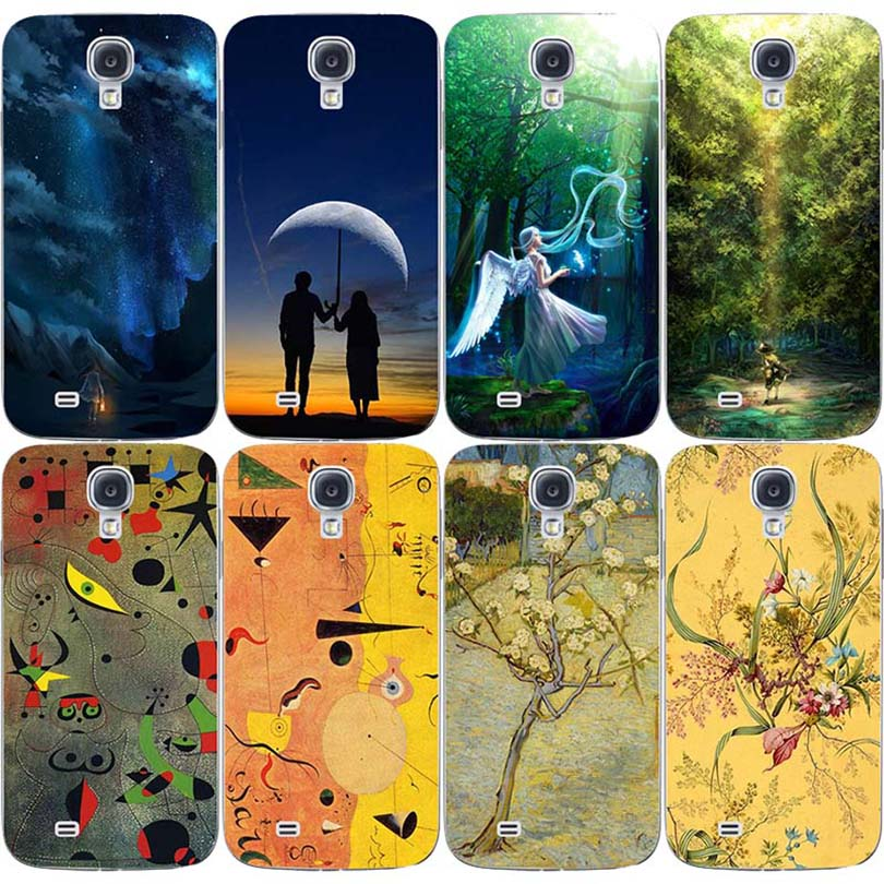 Hot Selling Cell Phone Skins Cases For Samsung Galaxy S4 Mini I9190 Cases Oil Surrealism Painting Hard Plastic Cover Phone Case