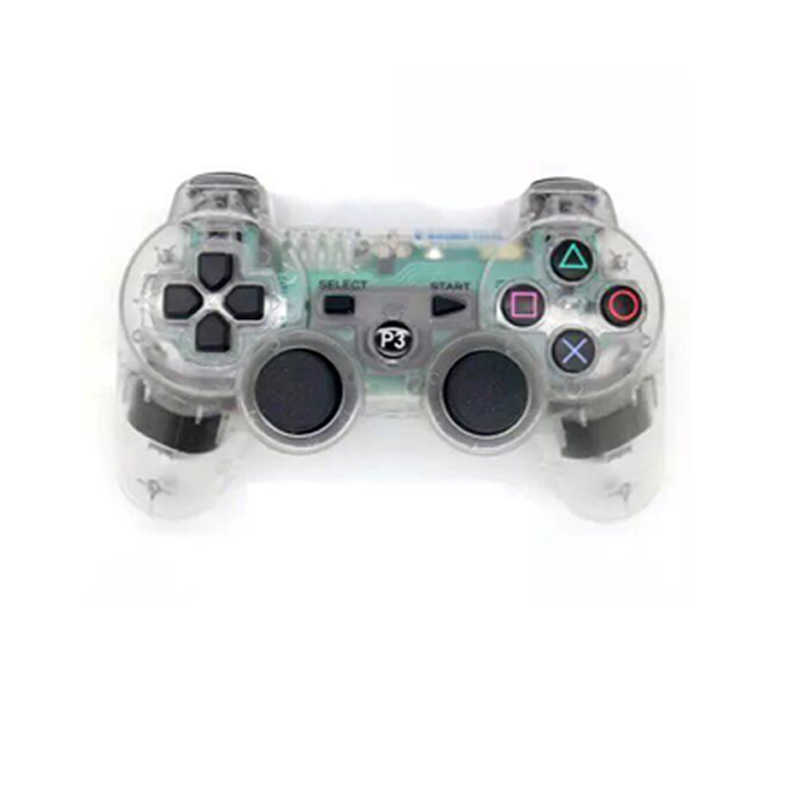 For Sony Ps3 Transparent Wireless Controller Bluetooth Gamepad For Playstation3 Ps3 Transparent Joy Pad Joystick Joypad Aliexpress