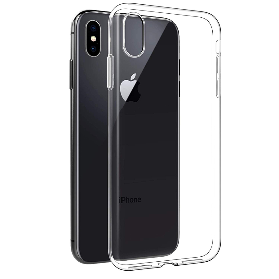 coque iphone xs slim transparente