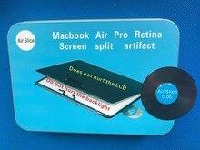 Frete grátis macbook ferramenta de reparo macbook ferramenta aberta grande inovador fatia ar não ferir a luz de fundo não machucar o lcd