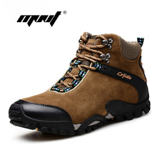 Suede leather Men Snow Boots Plus Size Warm Winter Shoes Top Quality Two Style Autumn And Ankle