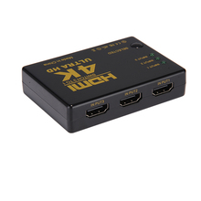 1080P 4Kx2K 3 in 1 Out HDMI Switch Hub Splitter TV Switcher Ultra HD 3 Ways for HDMI Input for HDTV PC