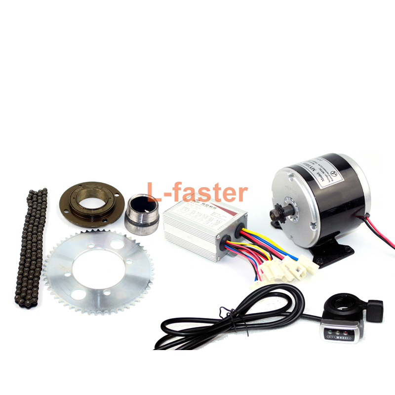 Electric Motor Kit For Wheelbarrow: 24V36V 350W Electric Cart Engine Kit Electric Motocross