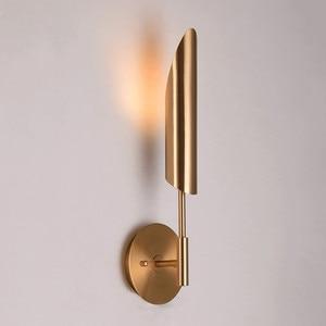 Image 1 - Lámpara de pared Led estilo minimalista para el hogar, lámpara de pared para pasillo, estilo nórdico