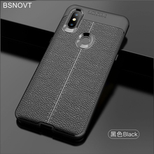 For Xiaomi Mi Mix 3 Case Soft Silicone Leather Anti-knock Bumper Cover Funda BSNOVT