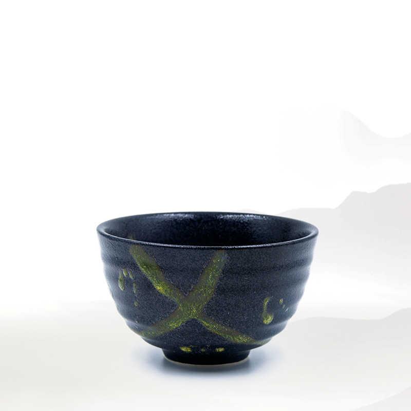 300 ml Japan Grof Aardewerk Matcha Kom Groene Thee Maker Cup Glazuur Theekopje Kung Fu Thee Set Master Cup Creatieve vintage Home Decor