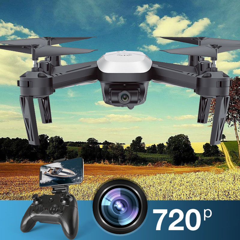 S8-Pro RC Drone Toys Quadcopter Remote Control 6 Axis Gyro 2.4GHz 4CH HD Camera 720P 200W Broad Angle Headless Mode 3D Flip jxd 518 rc quadcopter 720p hd camera wifi fpv gps mining point drone 2 4ghz 6 axis gyro mini drone 360 rotation headless mode