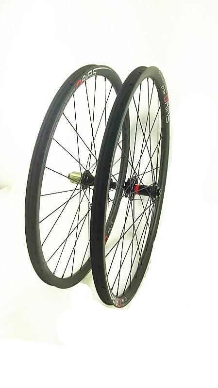free shipping carbon MTB wheels POWERWAY M81 hubs 3K UD matte Mountain Bicycle XC wheelset 29er tubuless wheels MTB wheel light bicycle roda mtb 29 carbon rear wheels