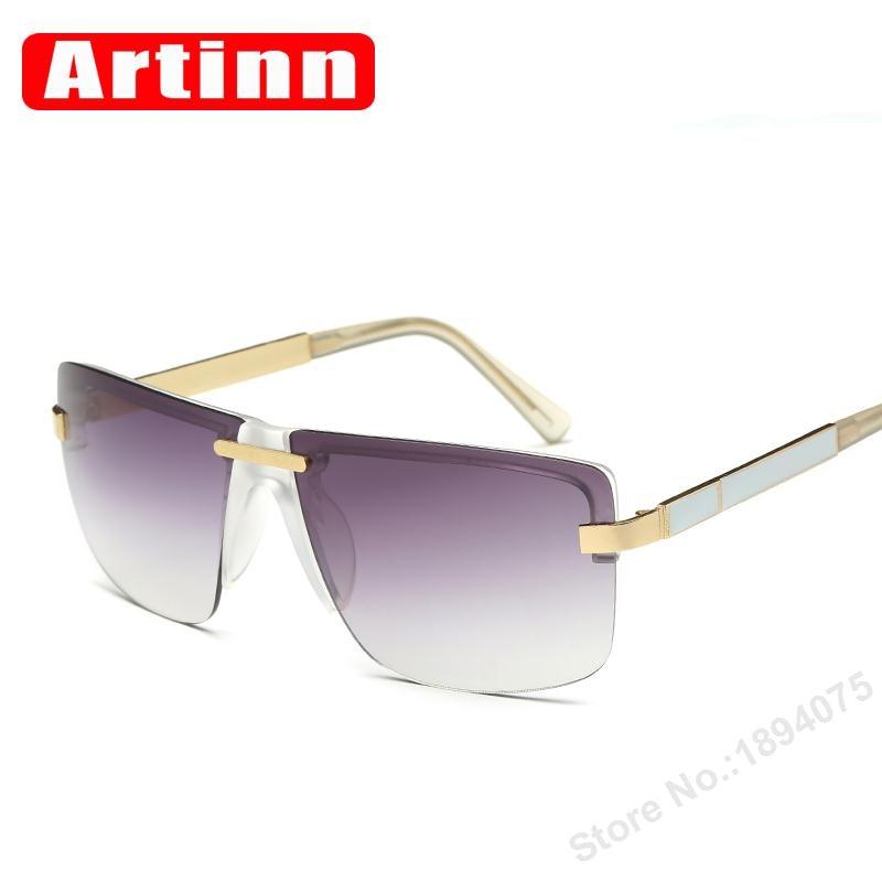 Alta calidad de lujo monobrowlines 2017 Gafas de sol marca diseñador ...
