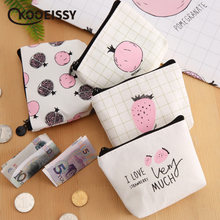 Cute Style Canvas Pocket Money Storage Bag Foldable Travel Credit Card Organizer Data Line Cables Storage Box Coin Candy Case(China)