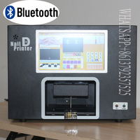 Free Shipping Top Selling Wireless Transfer Images Nail Printing Machine Digital Nail And Flower Printer