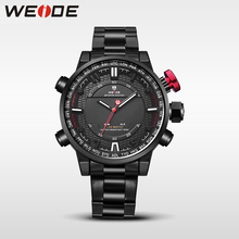 WEIDE mens quartz contracted watches top brand luxury casual sport watches men relogio digital clock masculino led analog watch mens watches weide luxury brand steel quartz clock men digital led watch army military sport watch male relogio masculino 2017