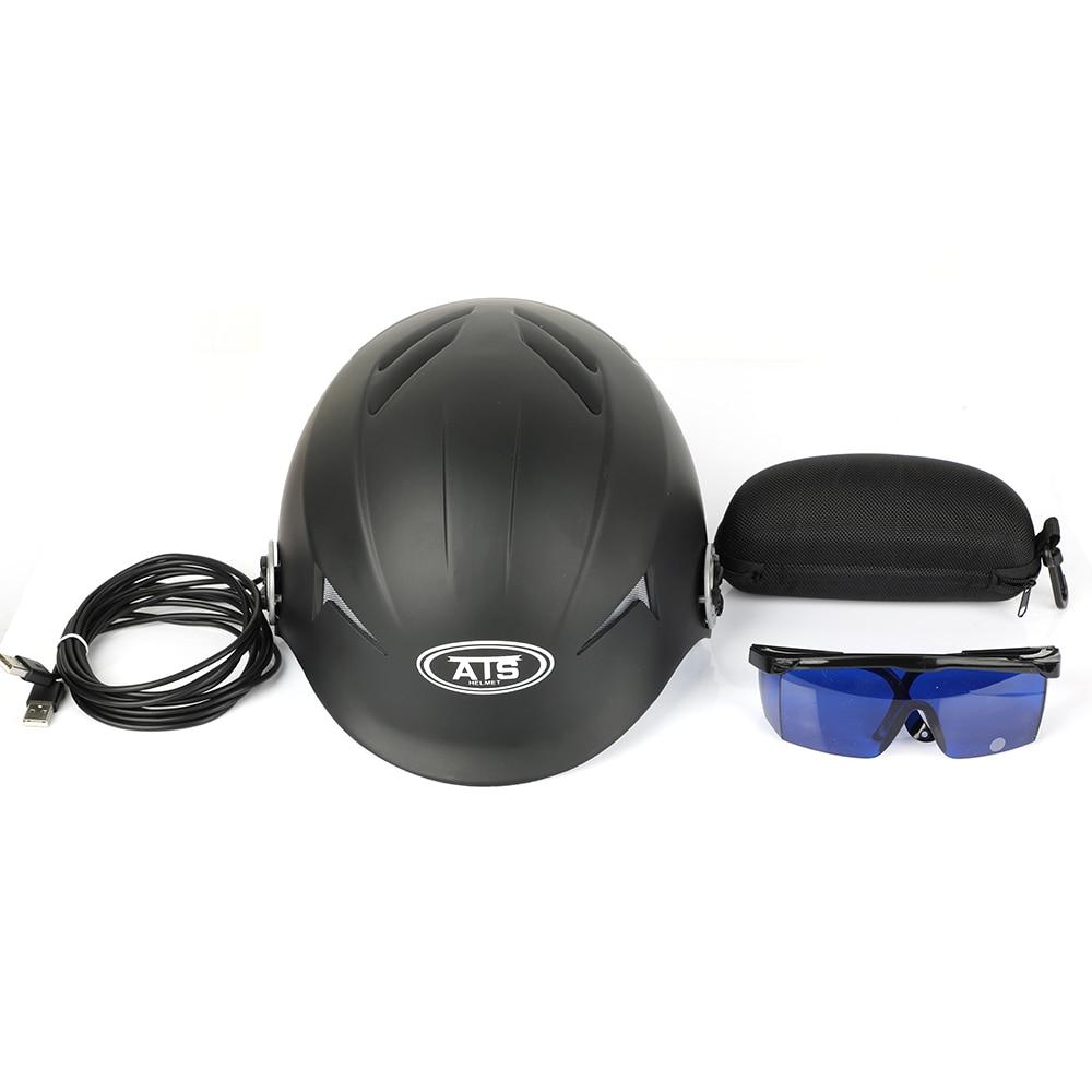 Nueva actualización de casco láser de crecimiento rápido para el cabello solución de pérdida de cabello para hombres y mujeres tratamiento de diodos sombreros para el cabello - 6