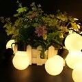 5CM Big Ball Led String Light Fairy Garland Outdoor  2.5M 5M 10M Starry LED Christmas Led String Light 110V 220V Wedding Garland