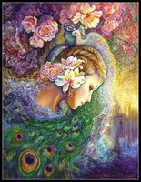 Needlework for embroidery DIY DMC High Quality Counted Cross Stitch Kits 14 ct Oil painting Peacock Princess