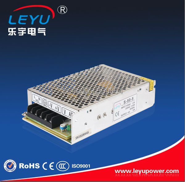 CE ROHS approved high quality led power supply 5v 50w  S-50-5 ce rohs high precision1200 watt power supply