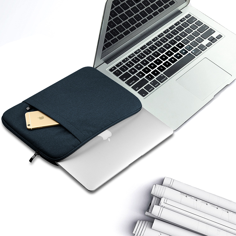 Nylon Laptop Sleeve Notebook Bag Pouch Case for Macbook Air 11 13 12 15 Pro 13.3 15.4 Retina Unisex Liner Sleeve for Xiaomi Air  2
