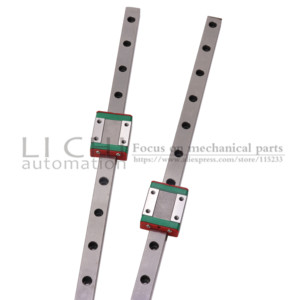 Image 4 - 2PC Linear Slider  MGN7C MGN7H MGN9C MGN9H MGN12C MGN12H MGN15C MGN15H with 2PC MGN Linear Rail Guide 150mm 300mm 400mm