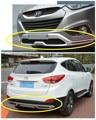 Para Hyundai ix35 2009.2010.2011.2012 BUMPER GUARD (Dianteiro + Traseiro) ISO9001 Alta Qualidade Auto BUMPER Placa