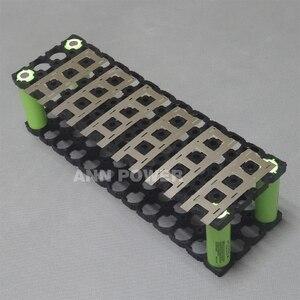 Image 2 - Держатель аккумулятора 4P13S 18650 + никелевая полоса 4P2S для литий ионных батарей 13S 48 в 10 Ач, держатель 4*13 и никелевый ремень 4*2