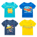 Children Sleeve T-Shirt Catamite Printing Half 16  Wear New Pattern Garment Baby  Unlined Upper Baby Clothes