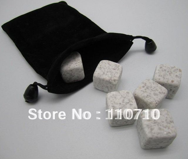 $15 off per $150 order, pearl white whisky stone 9pcs set +velvet bag, whiskey rock wine ice cube stones, free shipping by DHL!