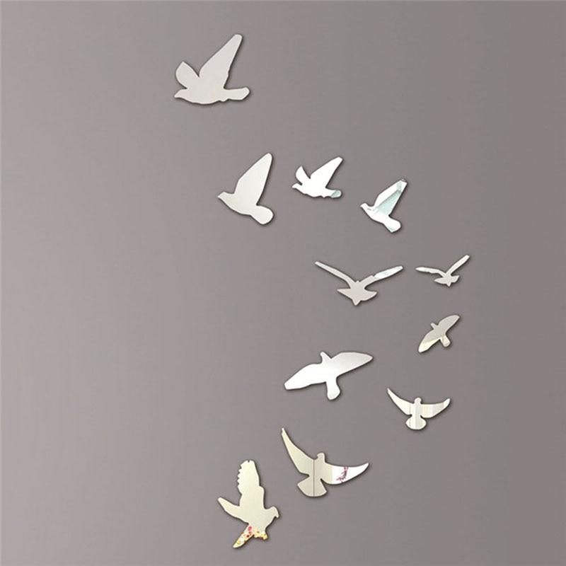 Online buy wholesale mirror bird from china mirror bird - Sticker mural leroy merlin ...