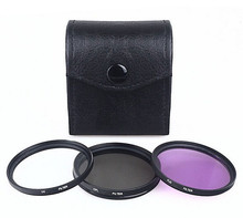 High Quality 77mm UV CPL FLD Filter Kit Protector Polfilter For Canon 24-105 100-400 70-200mm Lens DSLR Camera