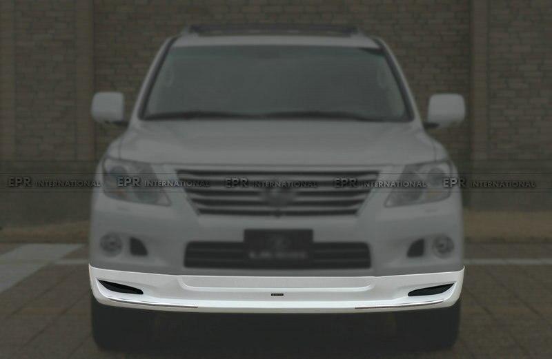 Lèvre avant FRP pour Toyota Land Cruiser (2012 +) 200 LXM Type fibre de verre avant becquet avant Kit de carrosserie garniture de réglage pour Cruiser - 2
