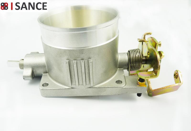 ISANCE Throttle Body Direct Bolt Assembly 4.6L 2V 75MM For Ford Mustang 1996 1997 1998 1999 2000 2001 2002 2003 2004  JQMT75CR