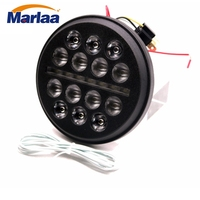 Marlaa For Harley Sportster Iron 883 Dyna Street Bob FXDB 5 3/4 5.75 Inch LED Headlight For forty eight Iron 883 street 500
