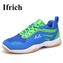 Men Women Badminton Shoes Big Size Indoor Badminton Sneakers Couples Sport Court Training Shoes Anti-slippery  Men Badminton