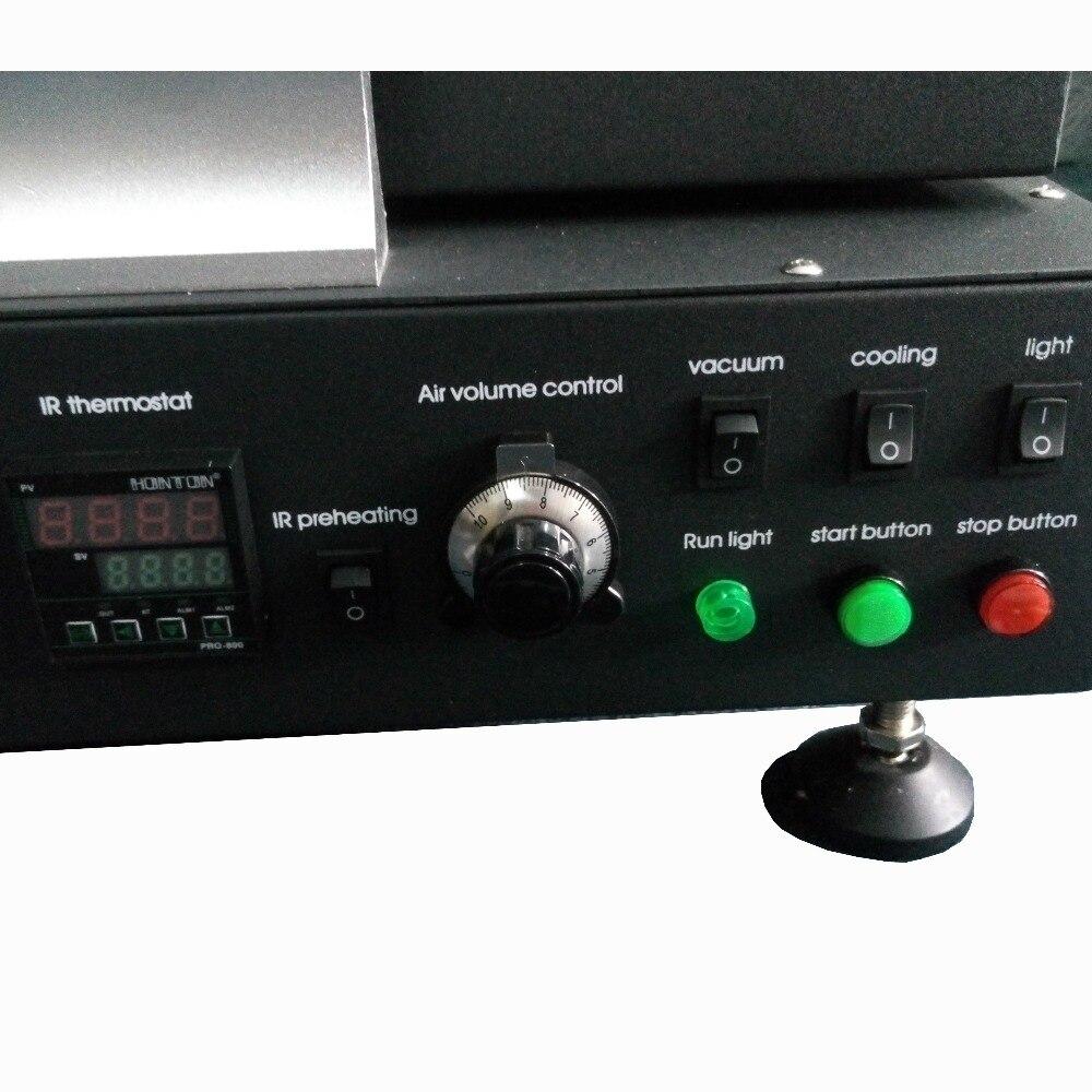 220 В Honton HT-R392 горячего воздуха и плита предварительного нагрева Интеллектуальная паяльная станция BGA