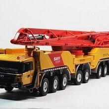 1:50 SANY HB86 грузовик-установленный бетонный цементный насос игрушка