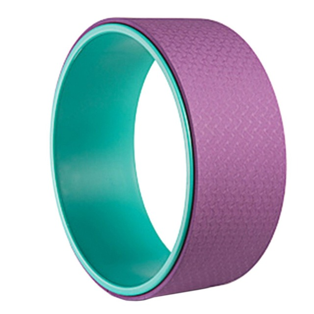 Yoga Wheel Pilates Waist Shape Bodybuilding Back Training Tool For Fitness 4