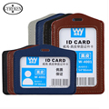 2017 New High-quality PU credit card wallet Holders Women Men Bank Card Neck Strap Card Bus ID holders Identity badge PY110