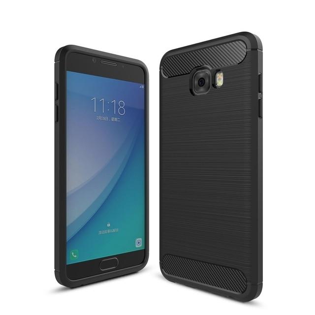 Shockproof Phone Case for Samsung Galaxy C9 C9 Pro / Galaxy C10 Wire ...