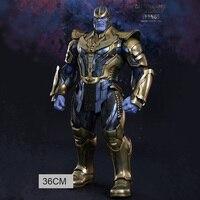 36cm Thanos Model Toys Marvel Legends Action Figures Avengers Infinity War Endgame