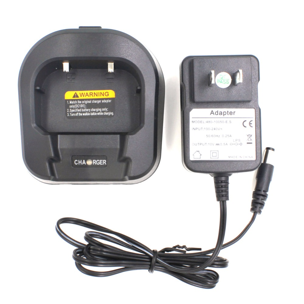Original Charger For BAOFENG UV-82 Series Two Way Radios Power Adaptor And Desktop For BL-5 Li-ion Battery