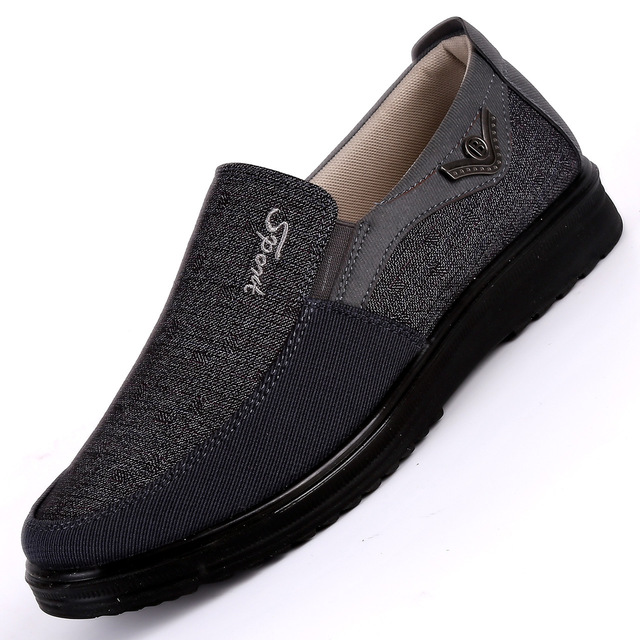 2019 neue Ankunft Frühling Sommer Komfortable Casual Schuhe Herren Leinwand Schuhe für Männer Komfort Schuhe Marke Mode Flache Müßiggänger Schuhe