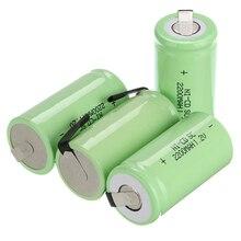 Banco do Poder Acumulador para Makita 4 Pcs SC Bateria Recarregável Subc Ni-cd 1.2 V 2200 Mah para Dewalt Bosch