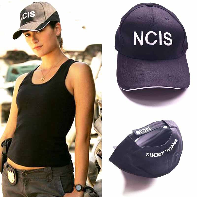 Movie NCIS Cap Embroidery Hat Special Agents Logo Hat Naval Criminal Investigative Service Cap Adjustable Baseball Cosplay