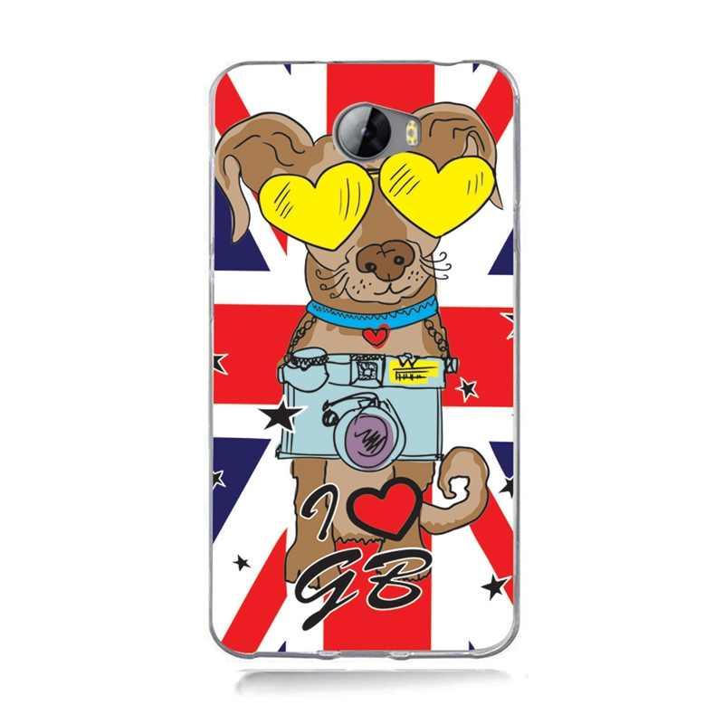 Для Huawei P9 Lite/P8 Lite/P10 Lite Y5 ii Y5ii крышка/5A LYO-L21/Y6 II тонкий мягкий прозрачный чехол с цветами чехол для телефона с флагом A744