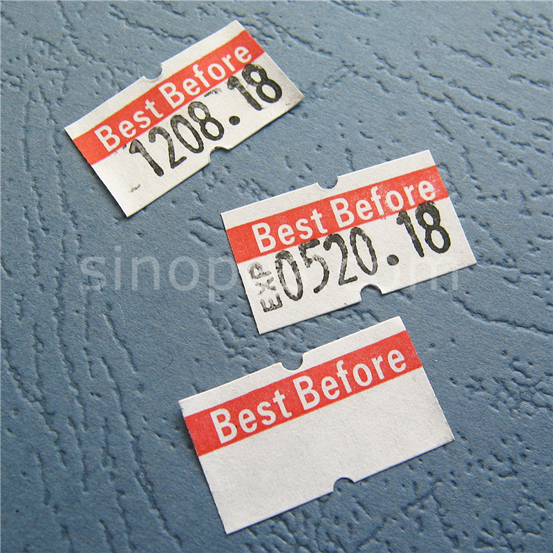 best before one line labels 21x12mm expire day date labeller 5500