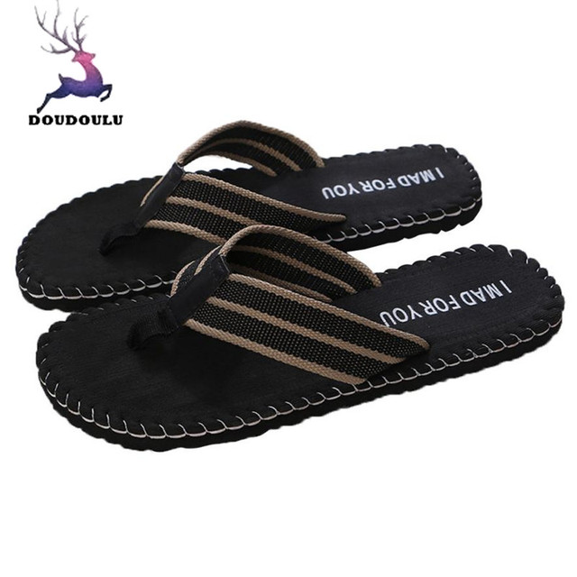 4da15d7dbe650 Summer Men Flip Flops Male Shoes Sandals Male Slipper Indoor Or Outdoor Flip  Flops Men Casual EVA Beach Shoes Size 40~44