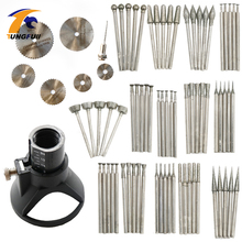 78Pcs Rotary Tool Attachment Dremel Accessories Jade carving set jade carved grinding needle Diamond grinding head Saw Blade