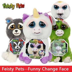 Change Face Feisty Pets Sloth Koala Bear Dog Funny Stuffed &Animals Plush Dolls Toy