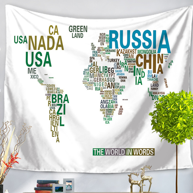 Wall hanging tapestry vintage world map tapestry bedspread living wall hanging tapestry vintage world map tapestry bedspread living room dining room art wall decor tapestries gumiabroncs Images